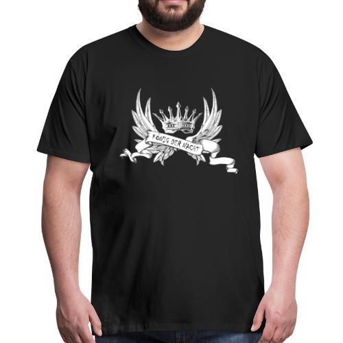 König der Nacht - Männer Premium T-Shirt