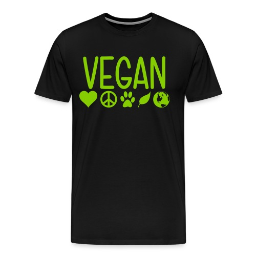 Vegan - Men's Premium T-Shirt