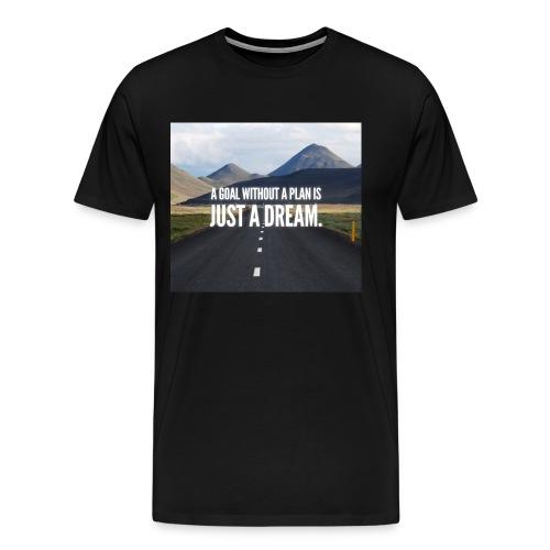 LuxuryQuote - Mannen Premium T-shirt