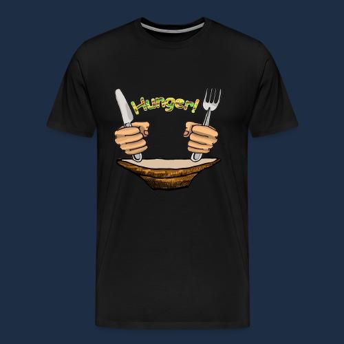 Hunger - Männer Premium T-Shirt