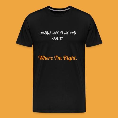Quote 82 - Men's Premium T-Shirt
