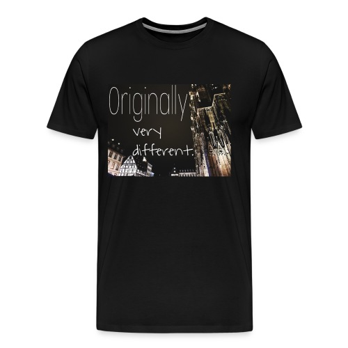 Originally Different - Männer Premium T-Shirt