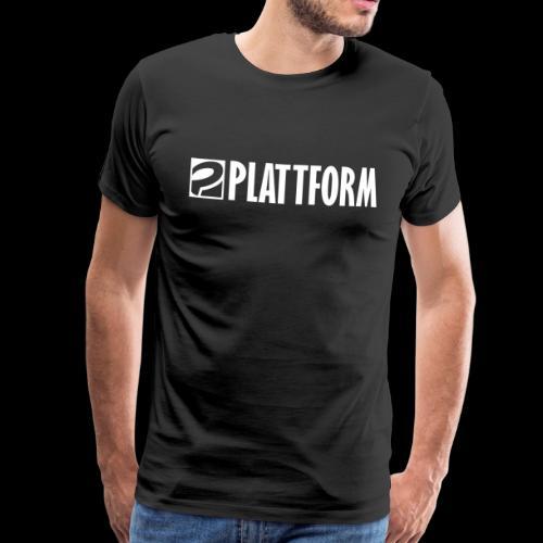 PLATTFORM Logo 2 - Männer Premium T-Shirt