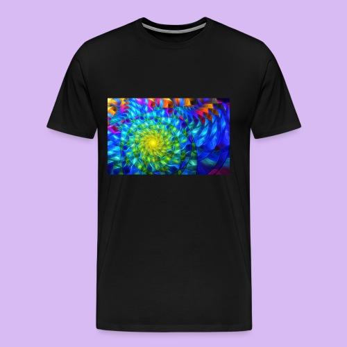 Astratto luminoso - Maglietta Premium da uomo