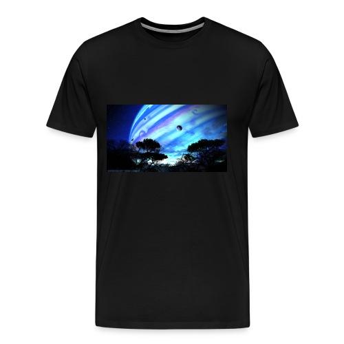tropical night - Camiseta premium hombre