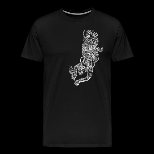 Hanuman White - Männer Premium T-Shirt