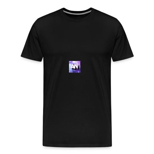 AN logo - Men's Premium T-Shirt