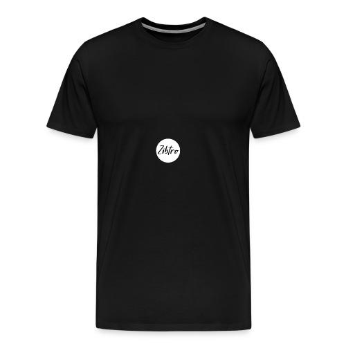 Zibtro wit - Mannen Premium T-shirt