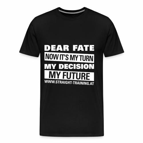 Decision Future - Männer Premium T-Shirt