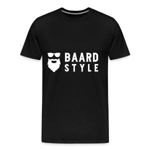 BaardStyle_1-white hoodie - Mannen Premium T-shirt