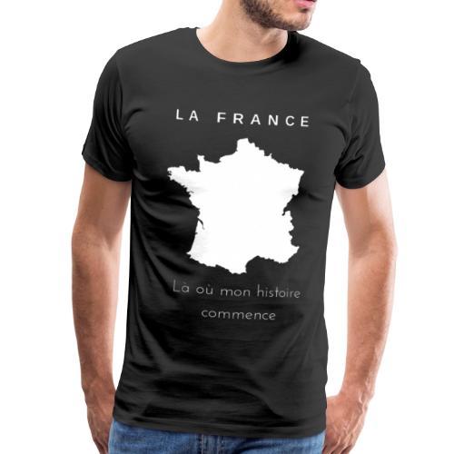 La France, mon pays - T-shirt Premium Homme
