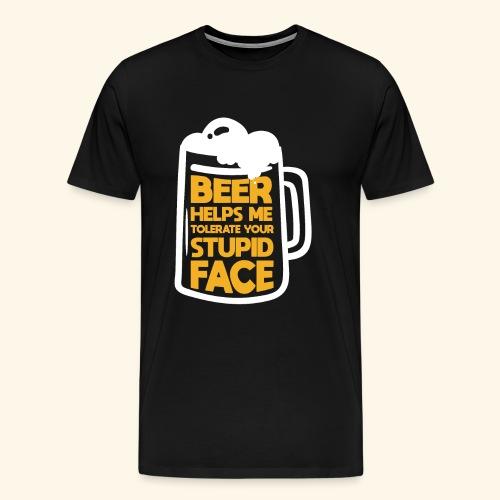 Lustige Bier T-Shirt Tees - Männer Premium T-Shirt