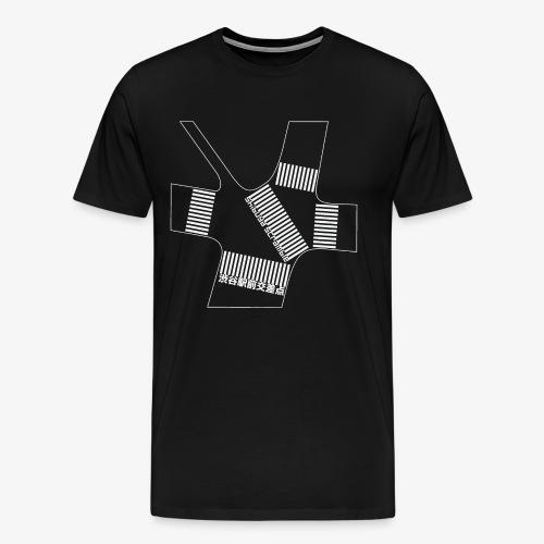 Shibuya Scramble Ver.2 - T-shirt Premium Homme