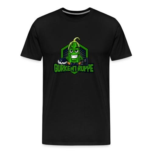 Gurkentruppe Logo - Männer Premium T-Shirt