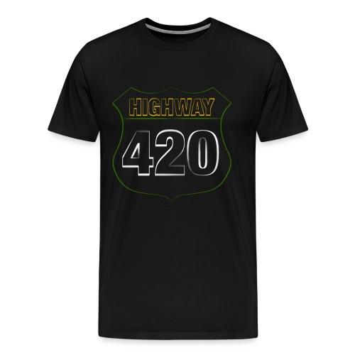HIGHWAY420 - Männer Premium T-Shirt