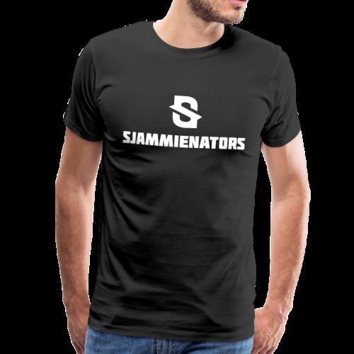 Sjammienators Wit - Mannen Premium T-shirt