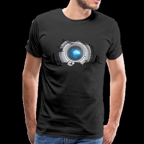 cellular eye four - Männer Premium T-Shirt