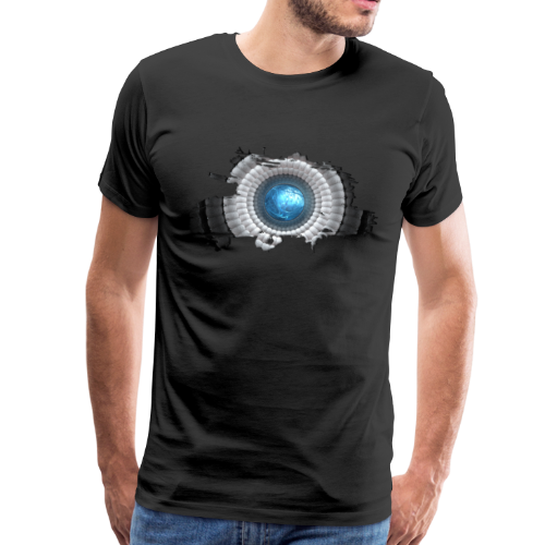 cellular eye four - Männer Premium T-Shirt