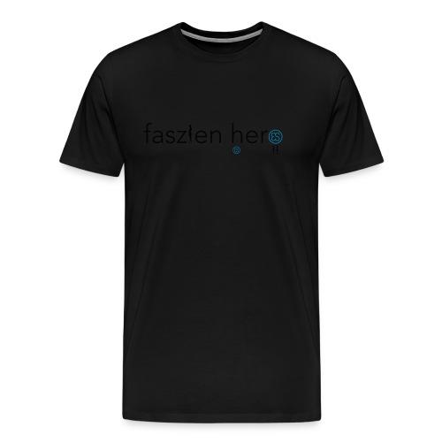Faszienhero - Männer Premium T-Shirt