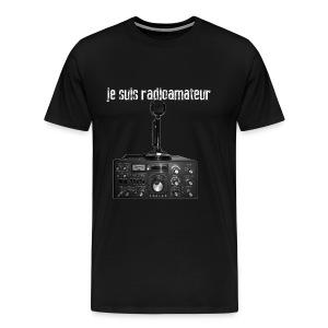 Je suis radioamateur - T-shirt Premium Homme