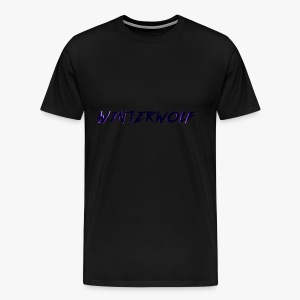 Official WINTERWOLF Season V logo - Mannen Premium T-shirt