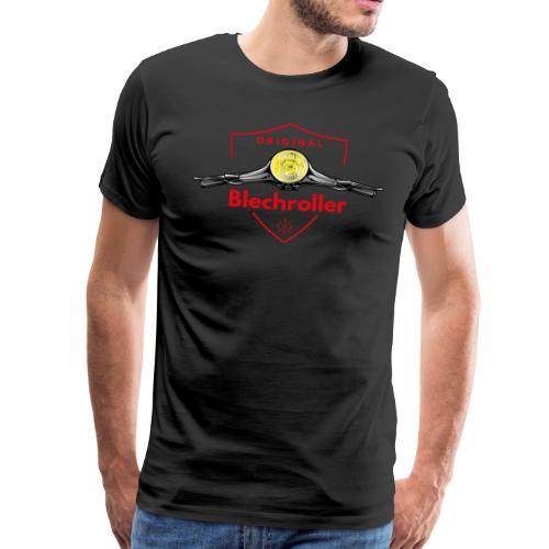 Blechroller Wappen Lenker Stage 2 - Männer Premium T-Shirt
