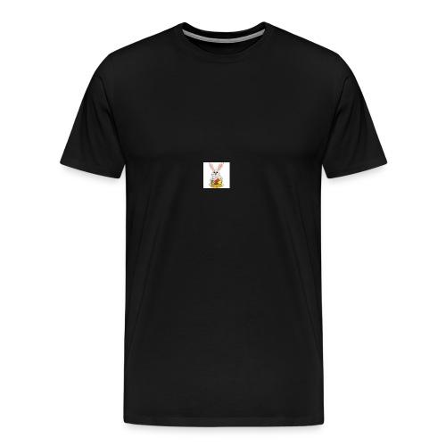 Påskhare - Premium-T-shirt herr