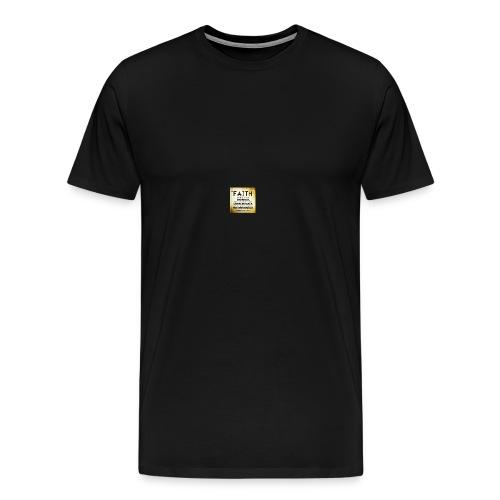 faith is 2 - Men's Premium T-Shirt