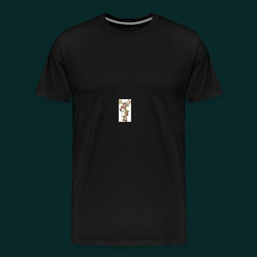 Baby-Lätzchen-Rentier-weihnachten - Männer Premium T-Shirt