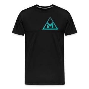 m - Premium T-skjorte for menn
