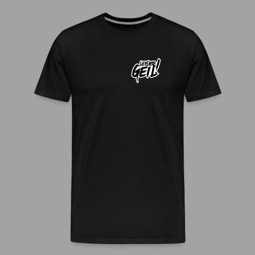 LeiderGeil-Schwarz - Männer Premium T-Shirt