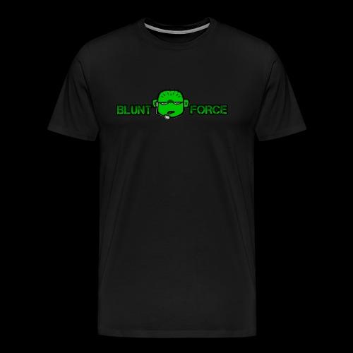 The Blunt Force - Premium-T-shirt herr