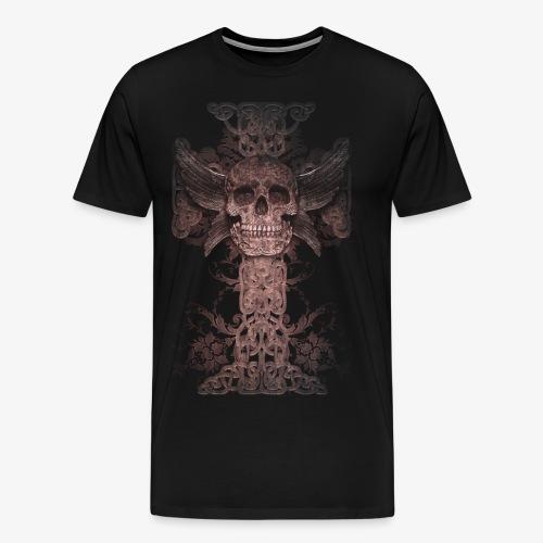 Celtic Skull - Männer Premium T-Shirt