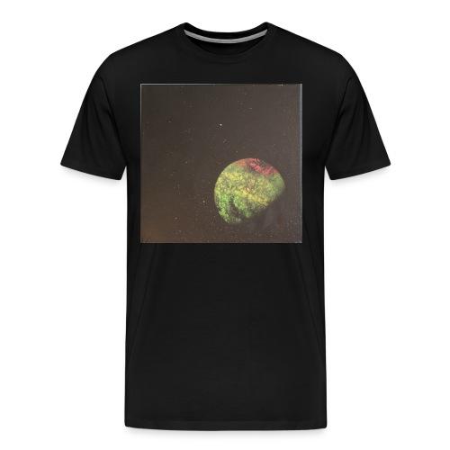 Lone Planet, Universum - Männer Premium T-Shirt