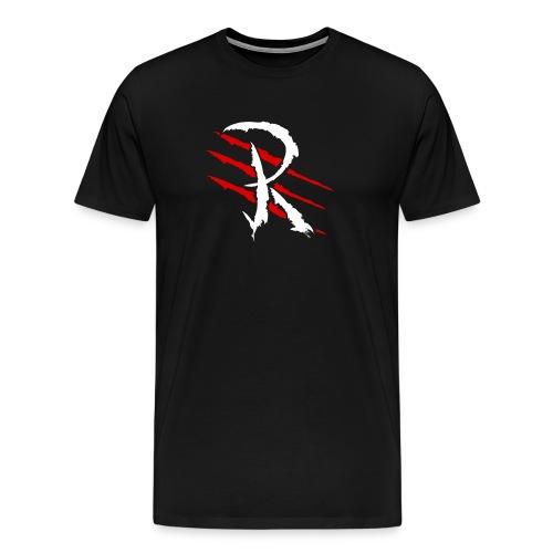 Raptayn Logo White - Männer Premium T-Shirt