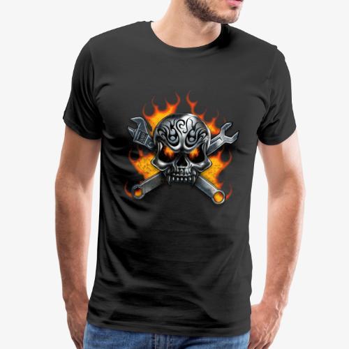 biker style - T-shirt Premium Homme