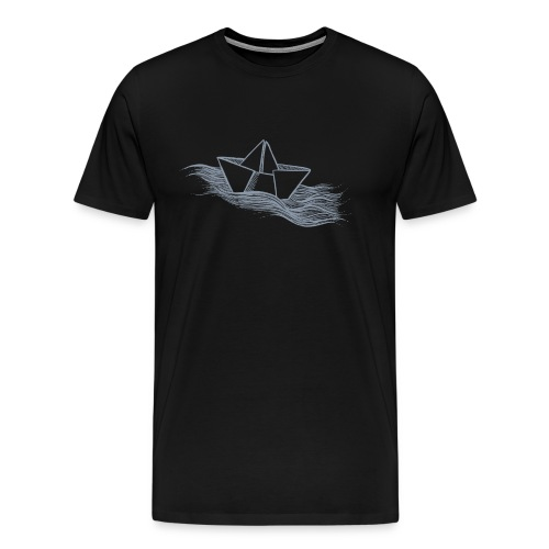Schiff grau - Männer Premium T-Shirt