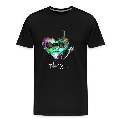 Plug - Partnerlook Shirt 023 - Männer Premium T-Shirt
