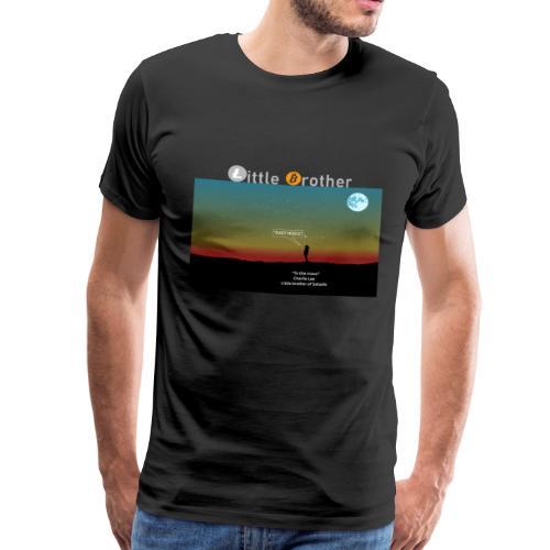 Litecoin moon - Mannen Premium T-shirt