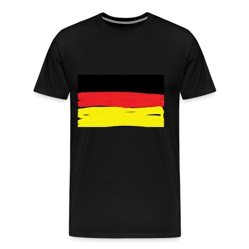 Deutschlandflagge - Männer Premium T-Shirt