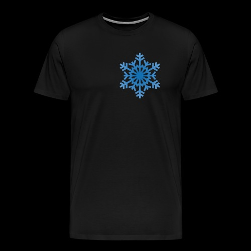 Snowflake - Herre premium T-shirt
