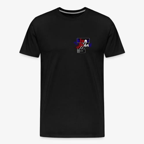 kluns the brand retro - Herre premium T-shirt