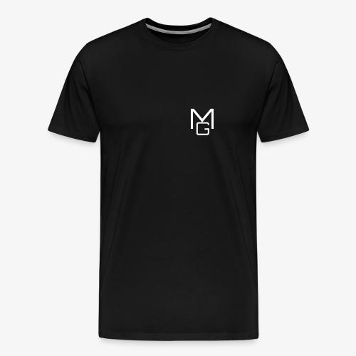 White MG Overlay - Men's Premium T-Shirt