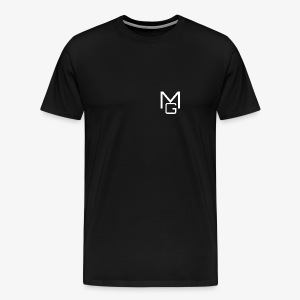 White MG Overlay - Men's Premium T-Shirt