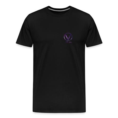 Space Logo Design - Men's Premium T-Shirt