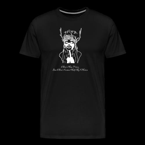 i don hear voices - Men's Premium T-Shirt