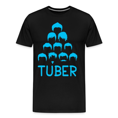 OrdinaryTuber Blue Hair - Men's Premium T-Shirt