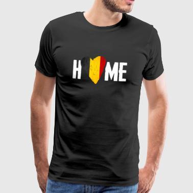 HEM HEM Belgien BELGIAN - Premium-T-shirt herr