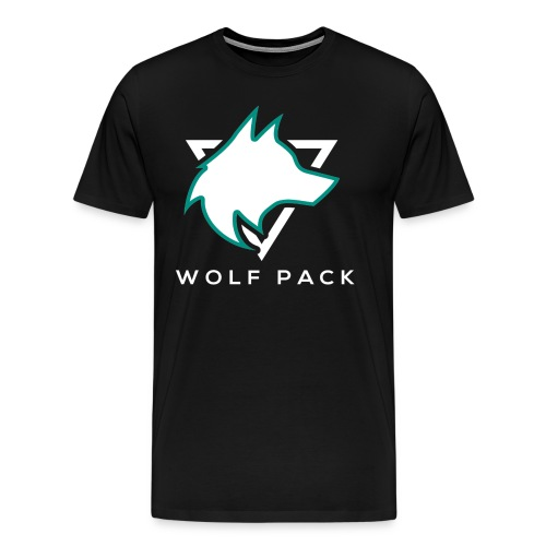 Wolf Pack Logo (NEW) - Men's Premium T-Shirt