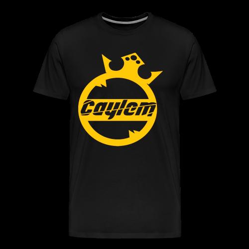 Caylem Logo Gold - Männer Premium T-Shirt